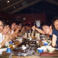 ゼミ合宿1日目(9月18日)夕食