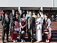 卒業式の日に(2012年3月25日)